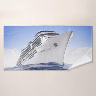 Toalha de banho do navio de cruzeiros