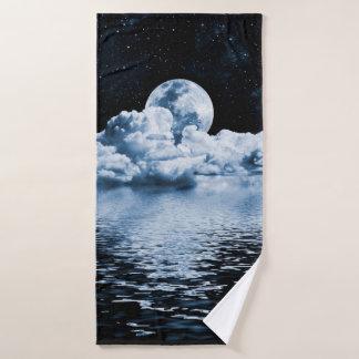 Toalha de banho ideal do espaço do oceano