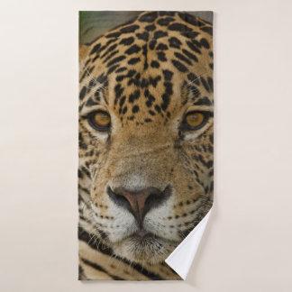 Toalha De Banho Retrato felino de Jaguar