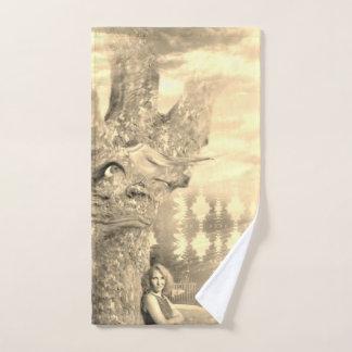Toalha De Mão Árvore mal-humorada