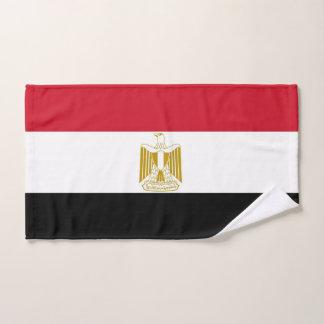 Toalha de mão com a bandeira de Egipto