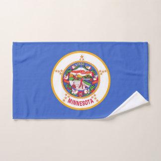 Toalha de mão com a bandeira do estado de