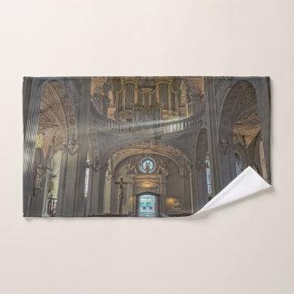 Toalha De Mão Construção arquitectónica interior da igreja