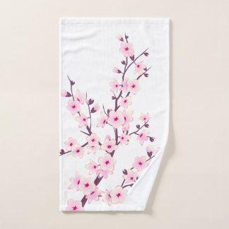 Toalha De Mão Flores de cerejeira florais