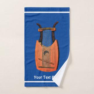 Toalha De Mão Harpa do rei David