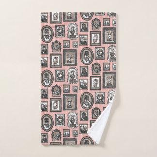 Toalha De Mão Impressão animal dos retratos