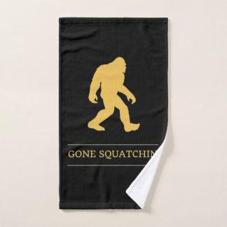 Toalha De Mão Pé grande engraçado Squatchin ido Sasquatch