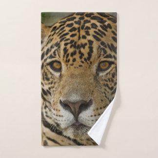Toalha De Mão Retrato felino de Jaguar