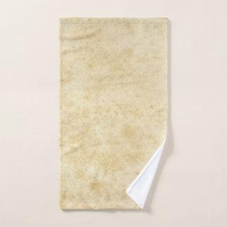 Toalha De Mão Vintage vazio envelhecido manchado antigo