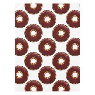 Toalha De Mesa 1 design da rosquinha do chocolate dos desenhos