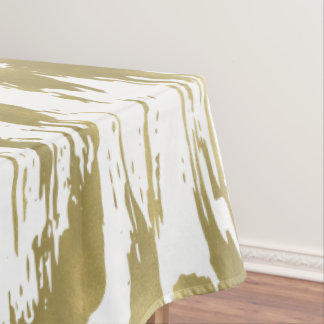 Toalha De Mesa Abstrato do encanto do ouro