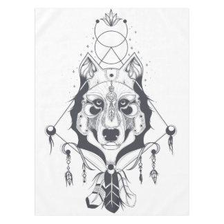 Toalha De Mesa arte legal do design do cão