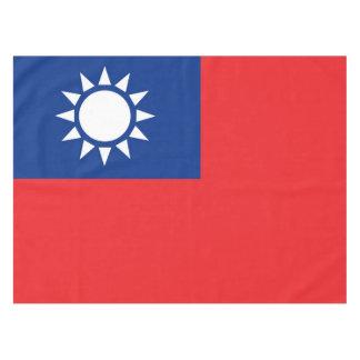 Toalha De Mesa Bandeira de Formosa a República da China