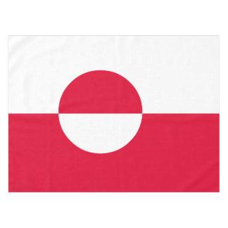 Toalha De Mesa Bandeira de Greenland