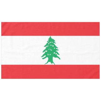 Toalha De Mesa Bandeira de Líbano