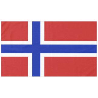 Toalha De Mesa Bandeira do escandinavo de Noruega