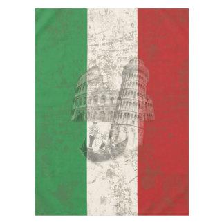 Toalha De Mesa Bandeira e símbolos de Italia ID157