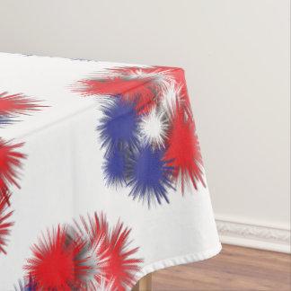 Toalha De Mesa Bandeira inchado dos EUA