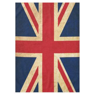 Toalha De Mesa Bandeira velha Union Jack de Reino Unido do Grunge