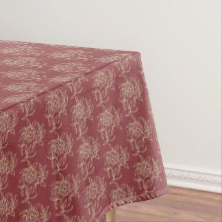 Toalha De Mesa Bege floral do Mini-impressão do estilo étnico no