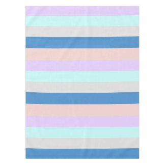Toalha De Mesa bloco roxo da cor de azul cinzento da hortelã do