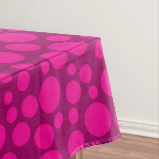 Toalha De Mesa Bolinhas cor-de-rosa