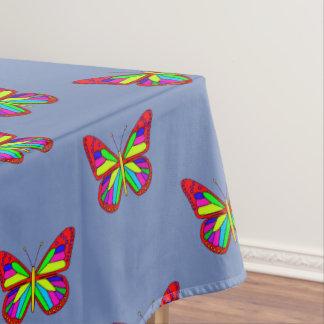 Toalha De Mesa Borboletas coloridas