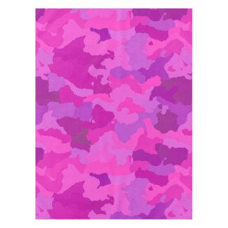 Toalha De Mesa Camo cor-de-rosa e roxo
