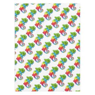 Toalha De Mesa Caráter do arco-íris dos desenhos animados do