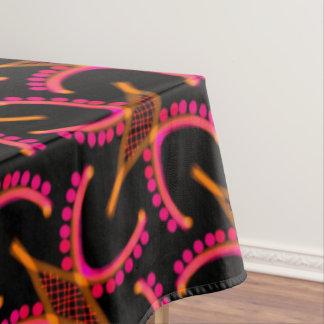 Toalha De Mesa Cobertura Jimette Desenho recortar cor de laranja