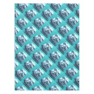 Toalha De Mesa Cogumelos de ostra no azul