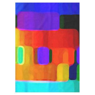 Toalha De Mesa Cores abstratas