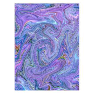 Toalha De Mesa cores cremosas, azuis