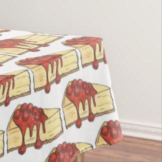 Toalha De Mesa Cozimento de Foodie da sobremesa da fatia do bolo