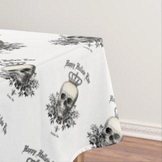 Toalha De Mesa Crânio e coroa modernos do Dia das Bruxas do