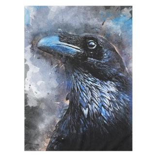 Toalha De Mesa #crow da arte do pássaro do corvo