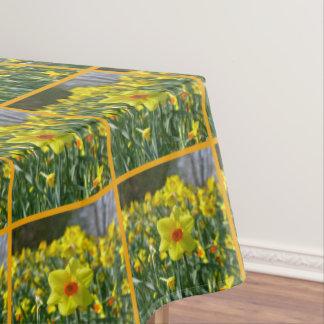 Toalha De Mesa Daffodils amarelos alaranjado 01.0.2. O