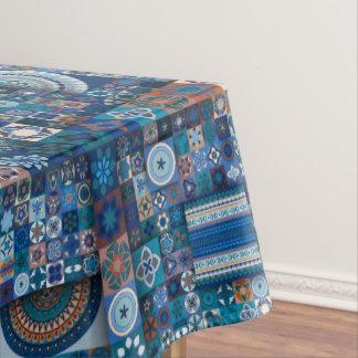 Toalha De Mesa Design abstrato colorido do teste padrão do