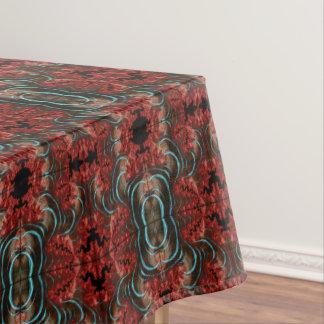 Toalha De Mesa Design coral da sala de jantar do Tablecloth da