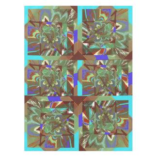 Toalha De Mesa Design emocionante abstrato da folha de prova