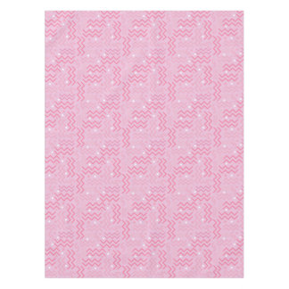 Toalha De Mesa Design Funky de Memphis do rosa Pastel