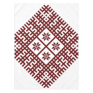 Toalha De Mesa Design letão Auseklis do motivo do símbolo