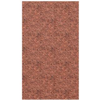 Toalha De Mesa detalhe a imagem do mulch do cedro vermelho para o