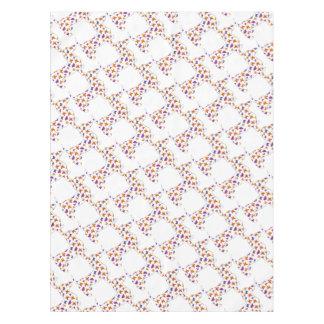 Toalha De Mesa Doxie-Borboleta--Branco