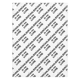 Toalha De Mesa ESCRITOR, ENTREGO-ME - Jogos de Palavras