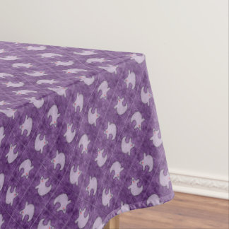 Toalha De Mesa Fantasma da diva do Dia das Bruxas em azulejos
