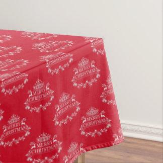 """Toalha De Mesa Feliz Natal do Tablecloth """"60x84"""""""