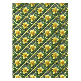 Toalha De Mesa Felz pascoa! Daffodil amarelo