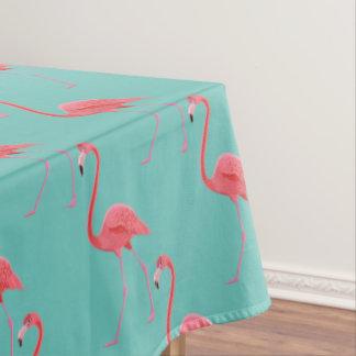 Toalha De Mesa Flamingo cor-de-rosa tropical do Tablecloth