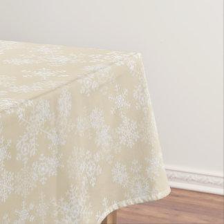 "Toalha De Mesa Flocos de neve do Tablecloth ""52x70"""